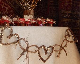 Bridal Shower Decor, Vine Garland, Hen Party,  Wedding Decor