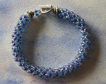 Spiral rope bracelet
