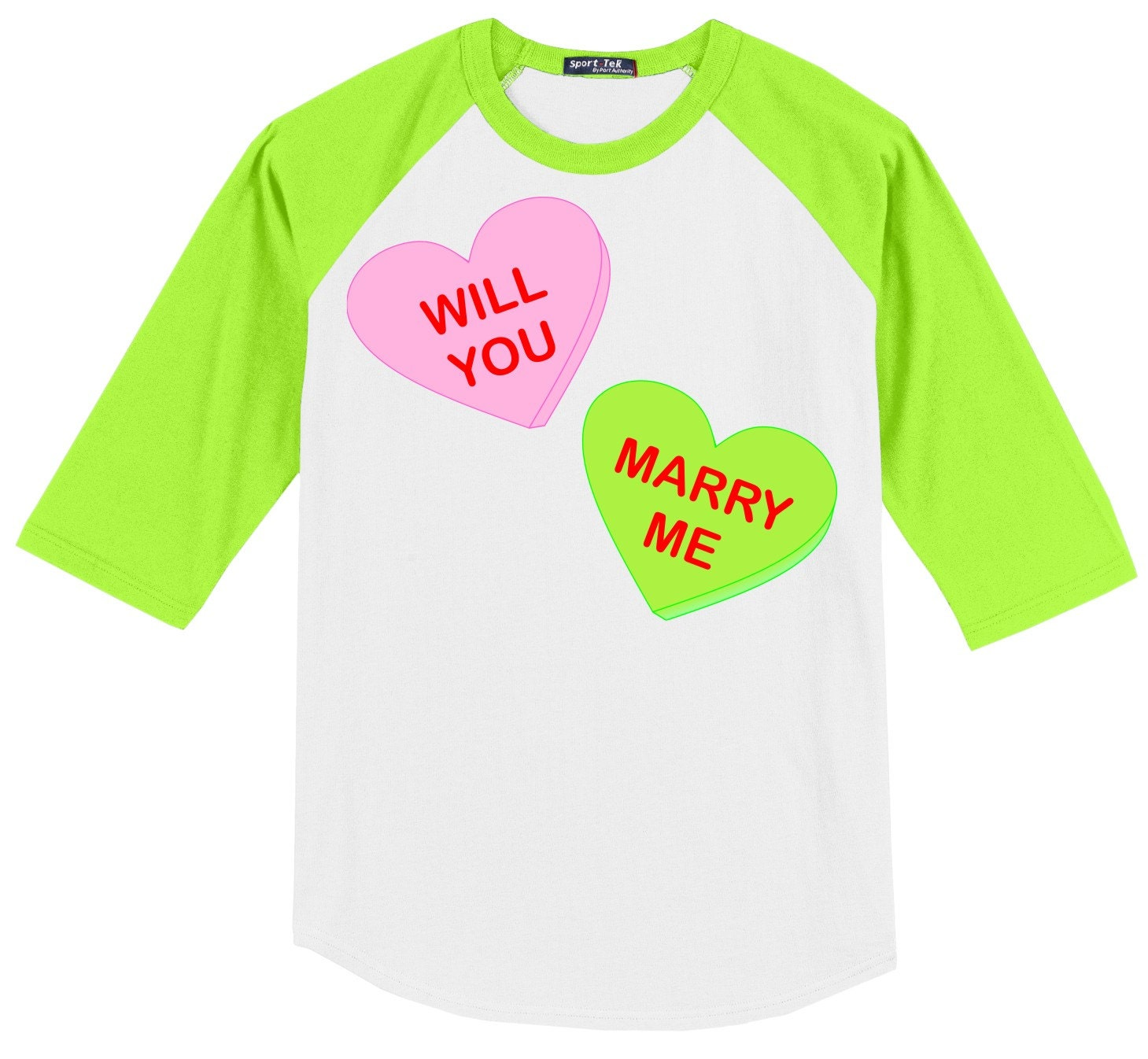 Will You Marry Me Conversation Heart Valentines (or not) Engagement ...