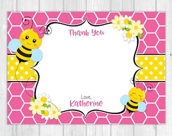 Bumble Bee 'Thank You' Card