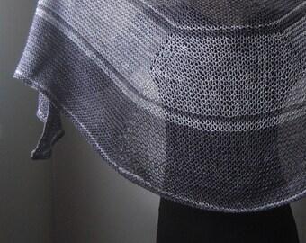 HAMARTIA Shawl Knitting Pattern PDF
