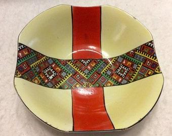 Vintage 1940's signed Made in Germany large serving bowl.