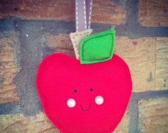 Cute felt apple teacher thank you gift end of term