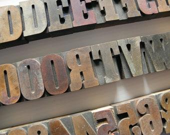 """2"""" Wood Letterpress Printer Blocks (2B)"""