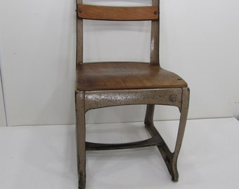 Vintage School Chair, American ...