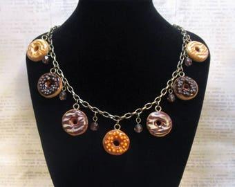i donut care necklace