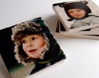 Designed by You coaster set - custom photo coasters