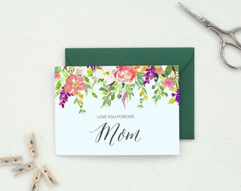 Mother's Day Gift. Happy Mother's DAy. Card for Mom. Cute Mother's Day Card. Floral Mothers Day Card. Mom Card. Mother's Day Card.