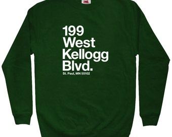 Minnesota Hockey Stadium Sweatshirt - Men S M L XL 2x 3x - Crewneck, St. Paul Shirt, Arena, Fan, Sports, Gift - 4 Colors