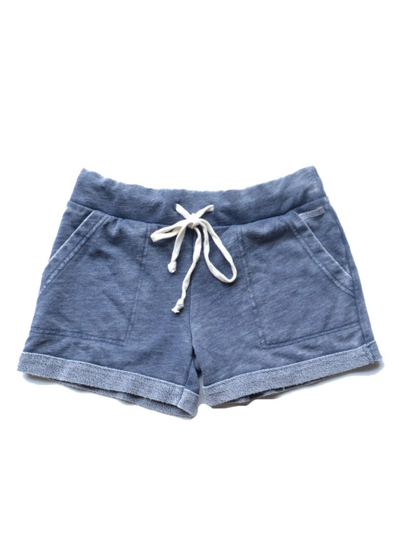 Ultimate French Terry Lounge Shorts - Washed Blue