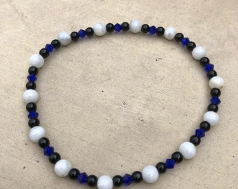 Agate Bead Anklet