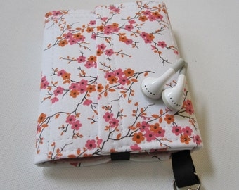 Nerd Herder gadget wallet in Just Lovely for iPod, Android, iPhone, camera, earbuds, SD cards, USB, extra batteries, guitar picks,