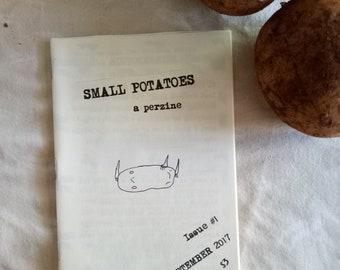 Small Potatoes #1 A6 zine