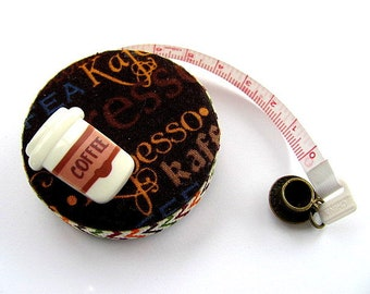 Retractable Tape Measure Assorted Coffee Measuring Tape