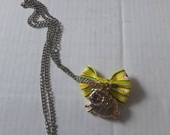 Sheep necklace for child