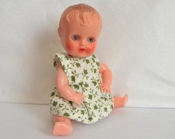 Miniature Doll - 1950's Toy - Tiny Baby Doll