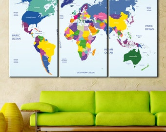 World map detailed, Push Pin map color, Push pin travel map, Travel map with pins, Push pin world map, Map push pin, Pin it map