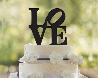 Love silhouette cake topper, Love cake topper, custom wedding cake topper, anniversary cake topper, wedding cake topper,romantic cake topper