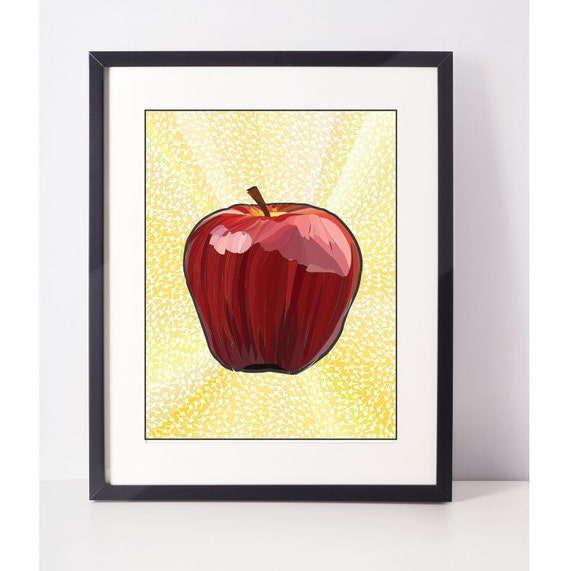 AppleIsh: Apple Decor Apple Printable Apple Print Apple