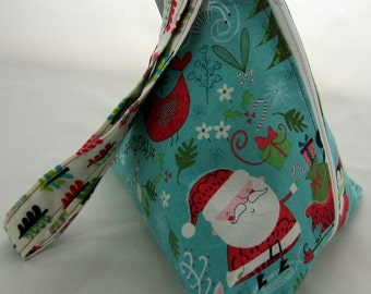Winter Wonderland Triangle Bag