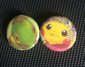 Set of 2 Pokémon Badge
