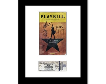 Playbill Frame and Ticket - 11x14-inch Frame Hold's Playbill Theatre Magazine with Ticket (Playbill Not Included)