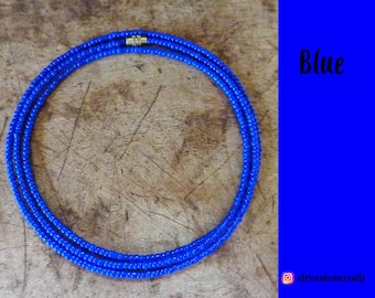 Blue - Waist Beads - Belly Chain - Belly Beads - African Waist Beads - African jewelry