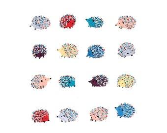 Happy Hedgehogs Print