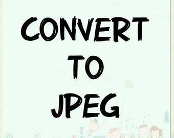 convert PDF file to JPEG file