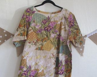 Japanese Print Tunic Vintage
