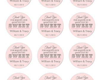 Love is Sweet Wedding-Themed Chocolate Covered Cookies, Custom Treats for all Occasions