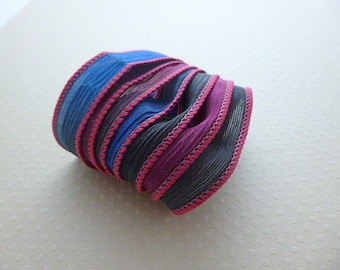 Ribbon silk hand-dyed color No. 1099