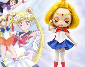 Blythe sailor moon / Blythe dress sailor moon / Blythe sailor moon dress / Blyth sailor moon clothes