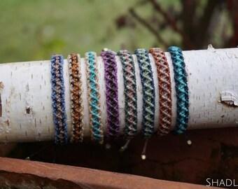 Tri-colored Macrium bracelets