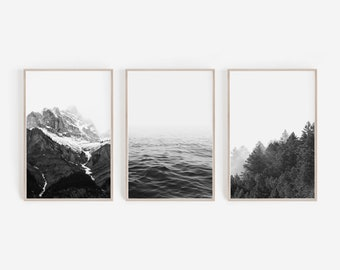 Wall Decor,Black And White Prints,Nordic Prints,Large Wall Art,Home