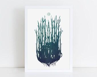 Trolls - Giclée art print