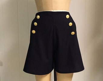 Lola Sailor Tap Shorts in Solid Colors