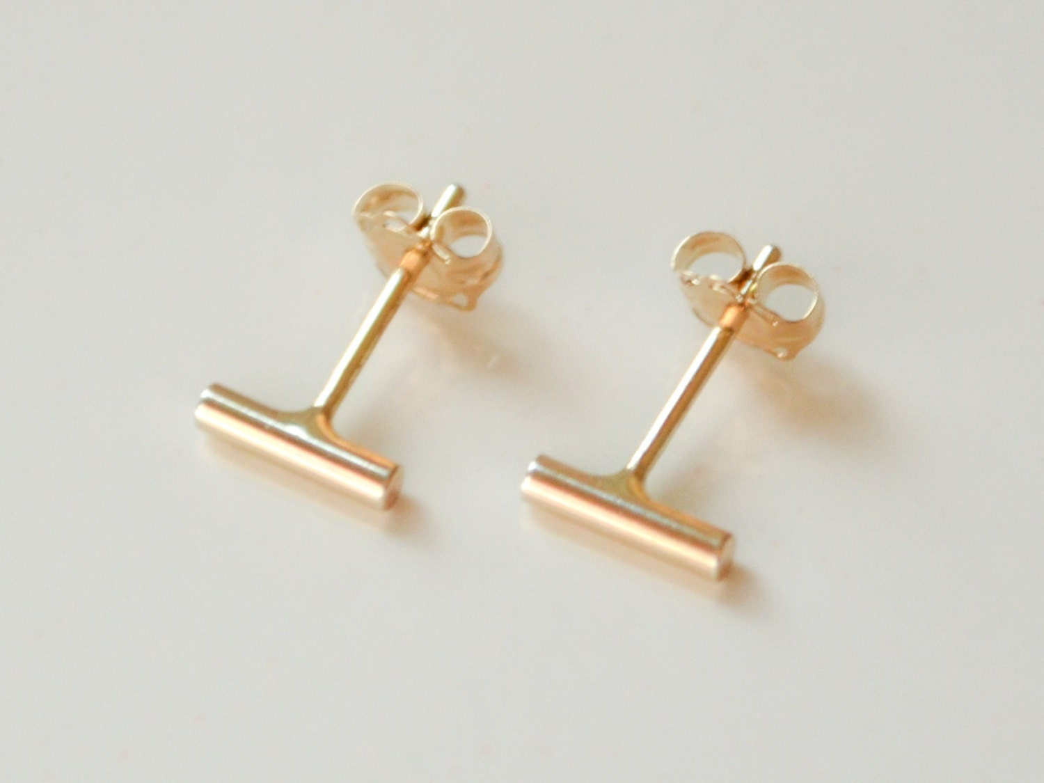 product earrings gold ball solid studs yellow stud