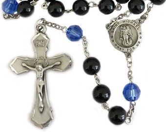 St Michael Archangel Guardian Angel Rosary Police Officer Gifts
