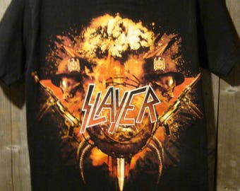Vintage SLAYER 2010 World Tour T-Shirt