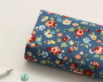 Small flowers Printed Cotton By the yard (width 44 inches) 68204