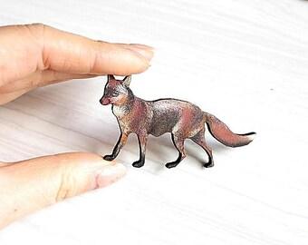 Woodland Fox Pin/Brooch