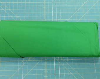 Solid green fabric. Rainforest Premium Colorworks quilters cotton quilting 9000 721 Northcott 3170