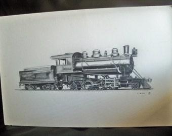 G McKay  train art
