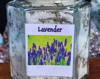 Lavender Concentrated Bath Salt - Elementary in muscle relaxation and aids in easing headache pain.
