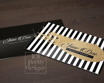 Gold glitter business card template gold printable business card design gold and black business cards custom busienss card gold glitter