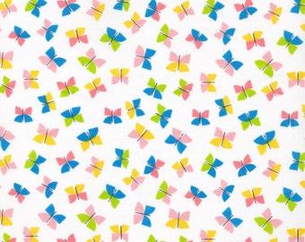 Cloud9 Organic Fabrics - Picture Pie - Butterflies 1/2 YD