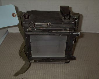 Antique Huttig Medium Format Film Camera