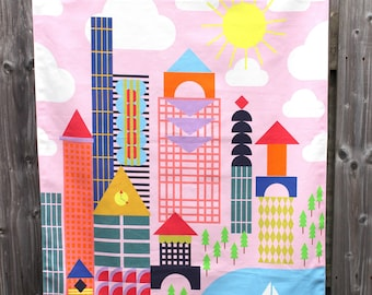 Cityscape Wallhanging