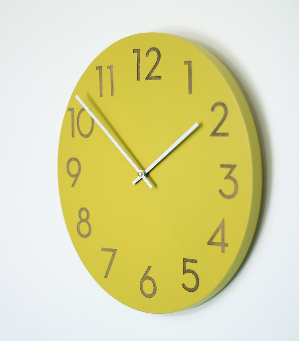 Awesome Modern Wall Clock Part - 14: Uncommon Handmade